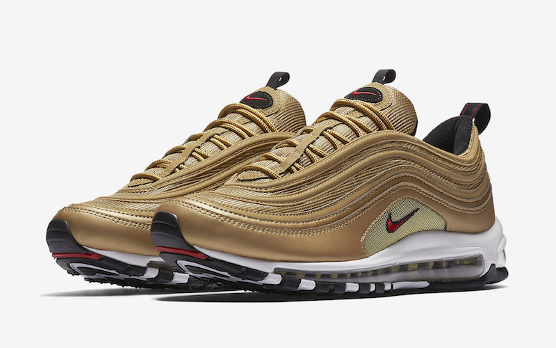 Nike Air Max 97 Gold : Buy Nike Sneakers & Shoes | Air force ...